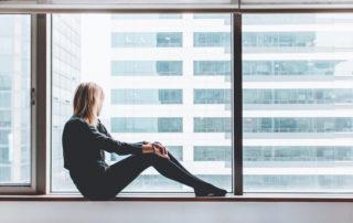 Window Woman Image